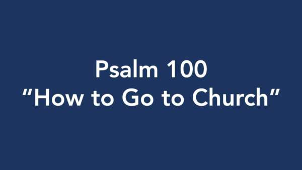How to Go to Church Image