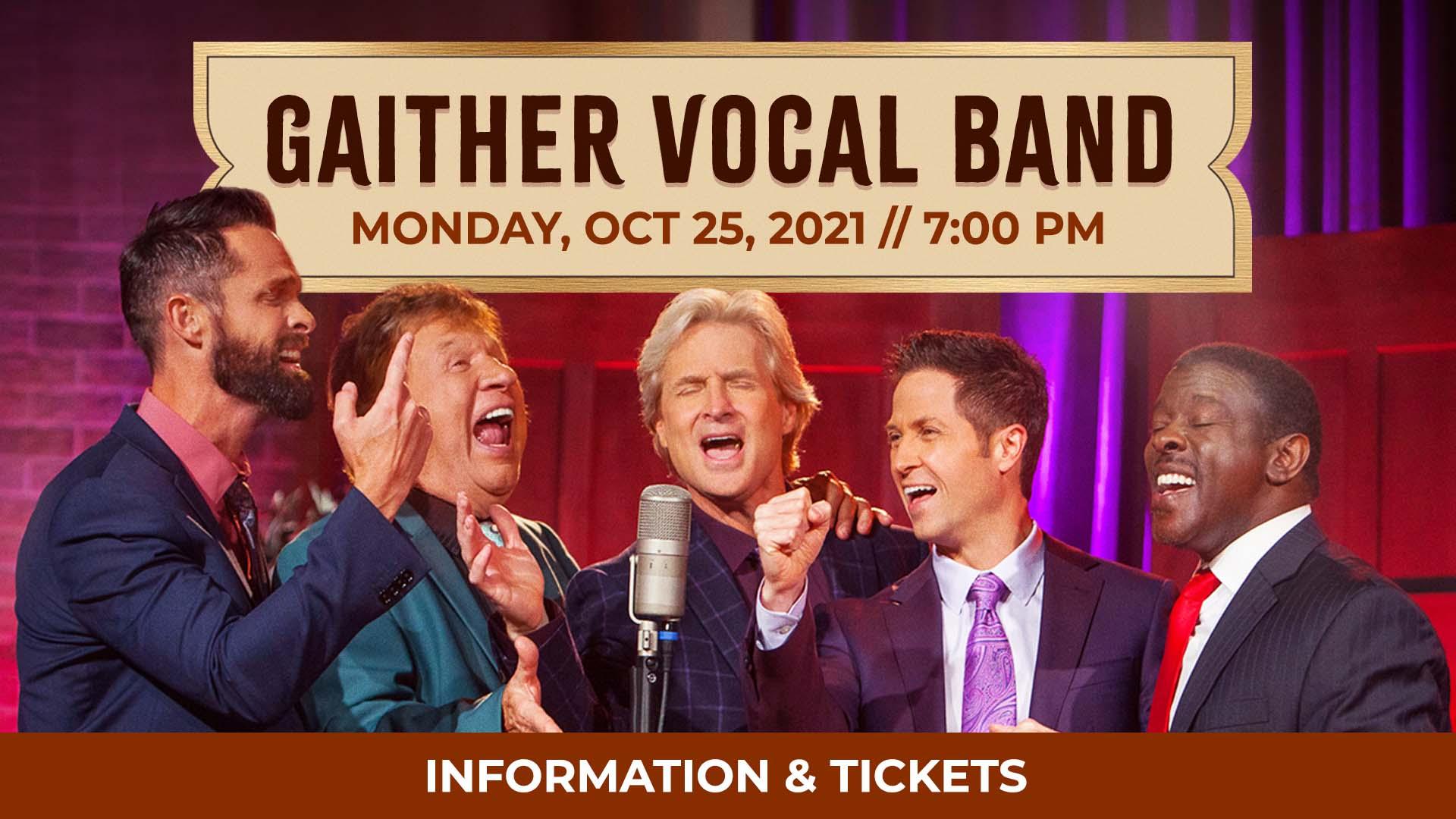 Gaither Vocal Band, Central Community Church, Wichita, KS