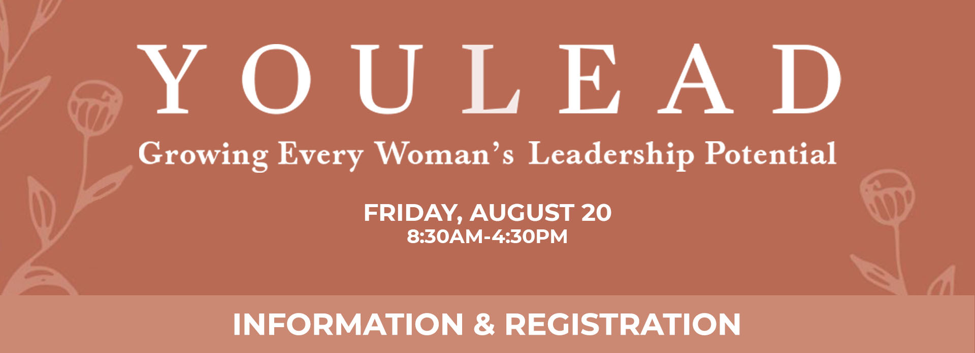 You Lead Women's Conference